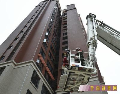 江油消防开展高层建筑灭火救援实战演练